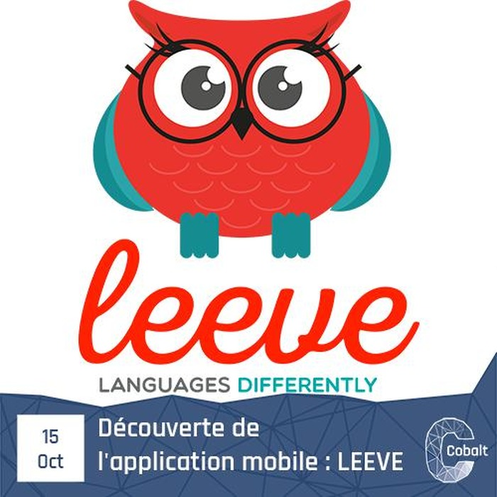 Découverte de l'application mobile : LEEVE